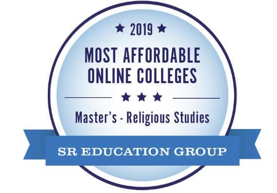 Award for most affordable online school for University of the Cumberlands' Master's in Christian Studies Degree