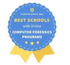 Award for best computer forensics program at University of the Cumberlands