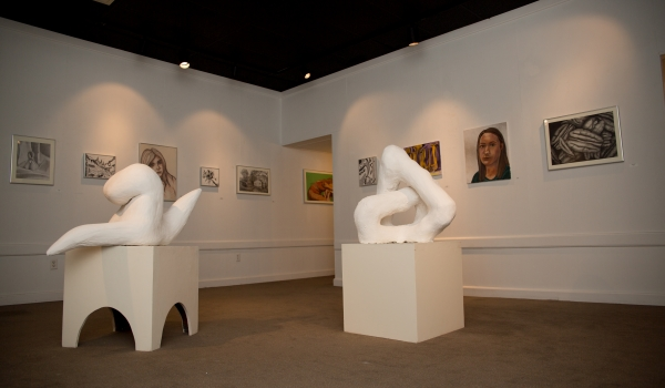 Art students' best work from fall semester displayed on campus