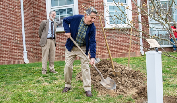 Cumberlands celebrates Arbor Day with tree dedication