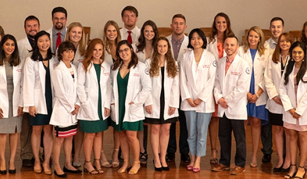 Cumberlands PA program hosts white coat ceremony