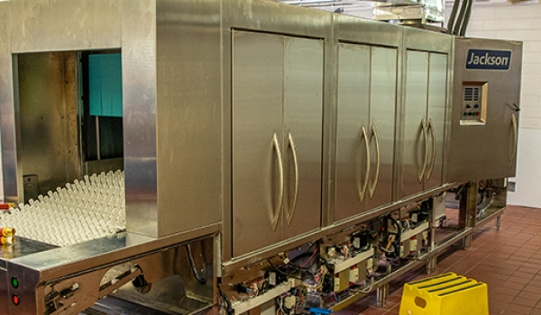 Cumberlands receives new dishwasher from Jackson Warewashing, Inc.