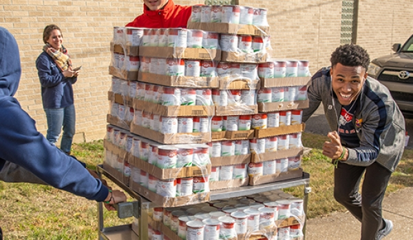 Cumberlands raises 21,764 pounds of food for local foodbanks