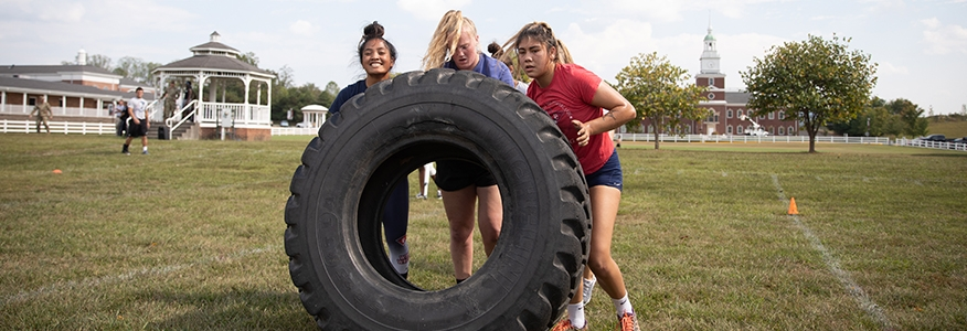 Cumberlands ROTC hosts Train Like a Patriot event