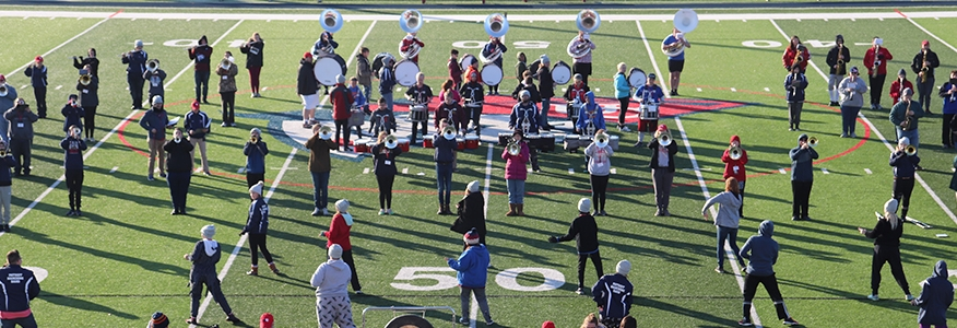 UC Marching Band Hosts Band Day